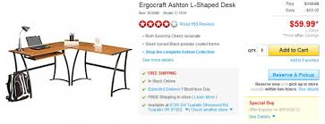 Ergocraft Ashton L Shaped Desk Ergocraft Ashton L Shaped Desk Gillespie Manual