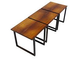 danish rosewood cube nesting tables att kai kristiansen oneandhome