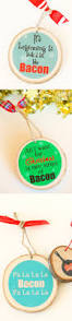 bacon yes bacon christmas ornament bacon ornament for bacon