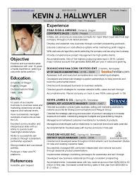 Resume In English Examples by Professional Profile