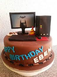 Cake Decorating Classes Dundee Desk Cake For Chief Technology Officer U0027s Retirement Www
