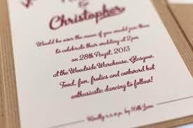 wedding invitations glasgow vintage wedding invitation in kraft pocketfold bossa luxury