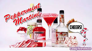 martini peppermint christmas peppermint martini how to tutorial youtube