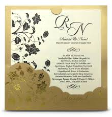 Gold Invitation Card Kad Kahwin Wedding Invitation Card End 2 22 2018 3 15 Pm