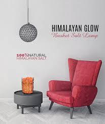 himalayan glow ionic crystal salt basket l pillar salt l salt84