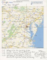 Salem Virginia Map by Philosfx May 2012