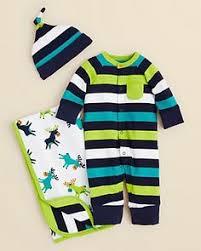 3 monogrammed baby boy gown gift set baby by doodlegirls