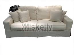 Slipcovered Sofas Clearance by Synergy Home Furnishings Montague Cream Eclectic Slipcover Sofa