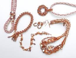 making swarovski crystal necklace images Swarovski crystal and pearls prumihimo jpg