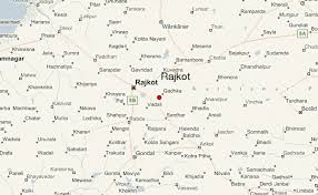 map of rajkot travel india