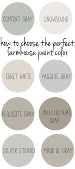 best neutral paint colors 2017 how to choose the perfect farmhouse paint colors