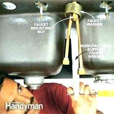 how to replace a kitchen sink faucet sink faucet kitchen sink mixer faucet replace spray chrome sink