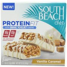 south beach diet greek yogurt coating protein fit bar vanilla