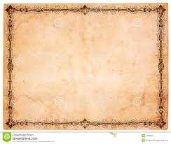 bordered writing paper blank antique paper with victorian border stock image image royalty free stock photo