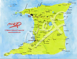 Spain Regions Map by Discover Trinidad U0026 Tobago Travel Guide Trinidad Maps Discover