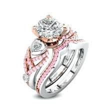 pink camo wedding rings womens pink camo wedding rings blushingblonde