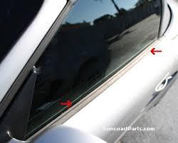 porsche cayman s parts suncoast porsche parts accessories door window gasket cayman s