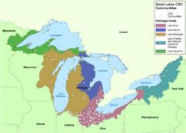 St Lawrence Seaway Map Green Vs Gray How Can Trees Clean Up The Great Lakes