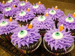 purple halloween cupcakes melissa u0027s one eyed one horned
