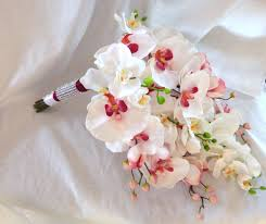 wedding flowers orchids cascade orchid bouquet phalaenopsis orchid bouquet tropical