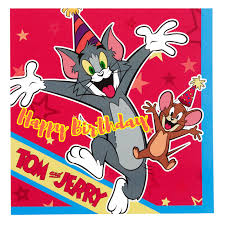 free tom and jerry birthday greeting cards