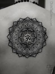 Buddhist Flower Tattoo - mandala tattoo by chaim machlev berlin germany buddhist