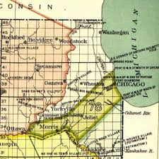 County Map Of Illinois Earliest History Of Will County Illinois Will County Ilgenweb