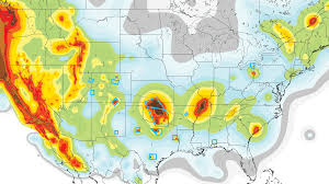 Earthquake Map Seattle by Faults Nuclear Reactors In Earthquake Zones In The Us Map
