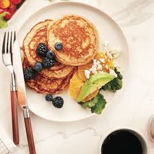 Protein Pancakes With Cottage Cheese by Protein Packed Whole Wheat Pancakes Chatelaine