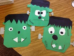 frankenstein craft frankenstein craft craft and red ribbon week