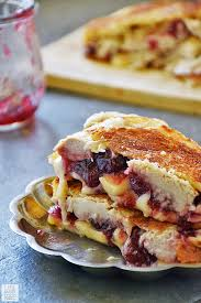 turkey grilled cheese with cranberry and brie tastes