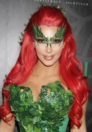 Fox Face Makeup Halloween by Kim Kardashian As Poison Ivy For Halloween Hawtcelebs Hawtcelebs