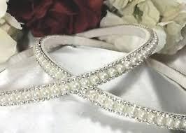 stefana crowns stefana wedding crowns swarovski crystals pearl custom made