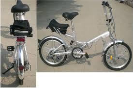 vélo avec siège bébé vélo electrique pliant tout suspendu vélo pliant electrique