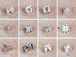 exo earrings kpop exo earrings titanium 2 peices as 1 set member by fanstown