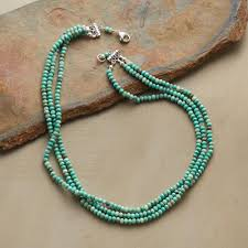 turquoise opal handmade australian opal necklace robert redford u0027s sundance catalog