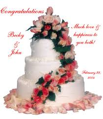 wedding wishes cake congratulations becky jozjozjoz