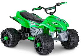 toddler motorized car green 12 volt ride on toy 4 wheeler bike atv electric car kids