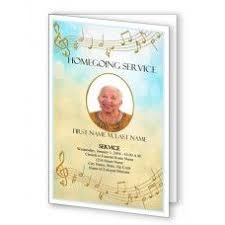 Unique Funeral Programs You Can Create Your Own Canvas With This Plain Funeral Program