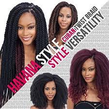 cuban twist hair amazon com freetress equal synthetic hair braid cuban twist 24