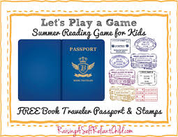 free children u0027s summer reading game bookland travel