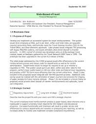 sample one page proposal template free professional certificate