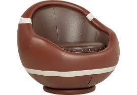 sport football brown swivel chair seating brown