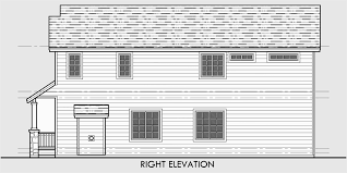 narrow house plans with garage lot house plans traditional tandem garage 3 bedroom bonus