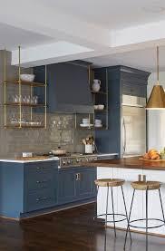 Navy Blue Kitchen Decor Traditional Kitchen Pinterest Normabudden Com