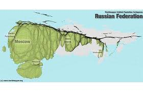 russia map by population population atlas map of the world showing population density in