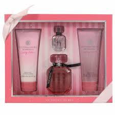 Parfum Secret Bombshell Di Indonesia s secret hello bombshell 4 pcs gift set for health