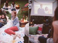Backyard Movie Party Ideas by An Outdoor Movie Party 4 Strategies For Throwing A Generous Party