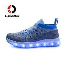 light up running shoes led luminous shoes men women running shoes light up usb charge