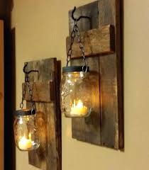 Wood Wall Sconce Wooden Sconces Wall For Candles Rustic Wood Candle Holder Rustic